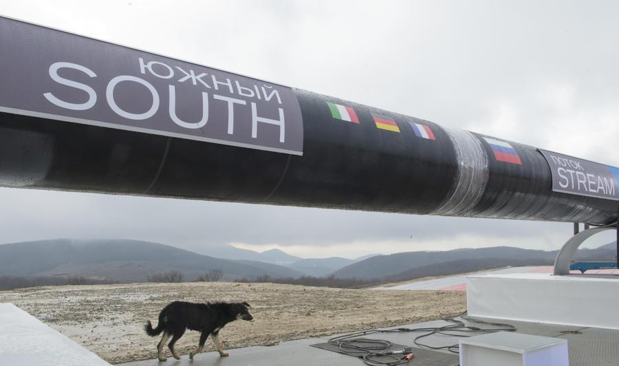 Украина и ЕС призывают заморозить строительство «Южного потока»