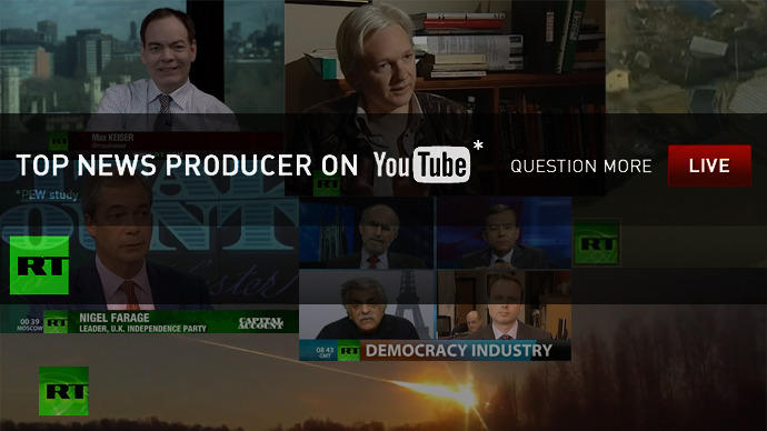 Количество просмотров канала RT на YouTube превысило 1 млрд