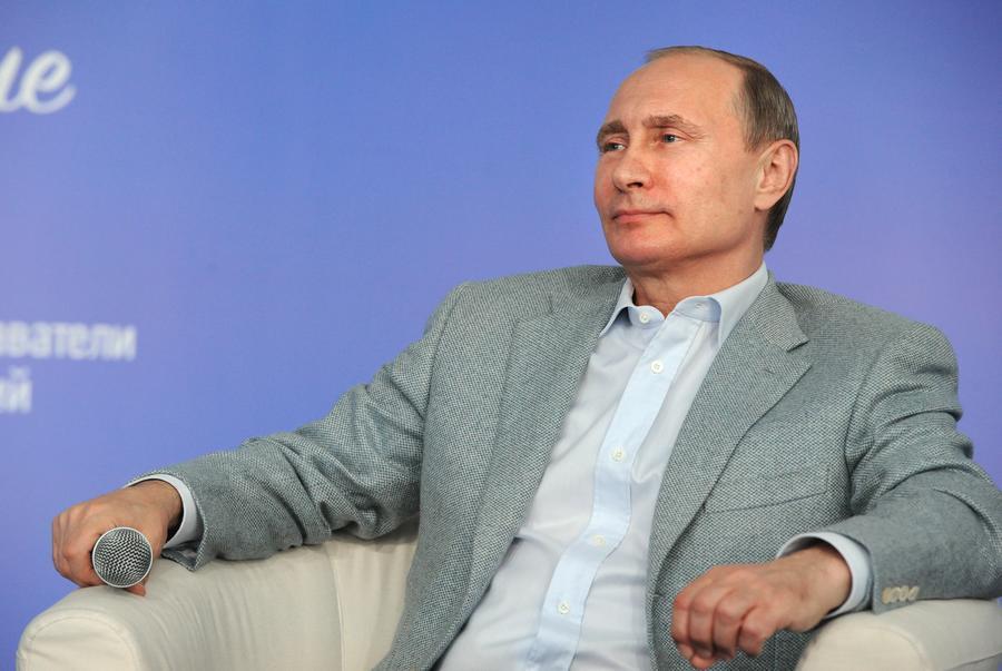 Владимир Путин в третий раз возглавил рейтинг самых влиятельных людей мира по версии Forbes