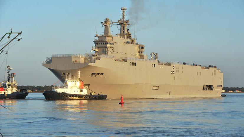 Рособоронэкспорт получил приглашение на 14 ноября для передачи России первого «Мистраля»