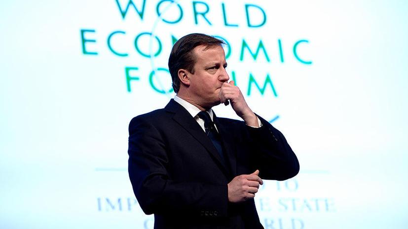 Кэмерон предлагает создать новый ЕС на новой базе