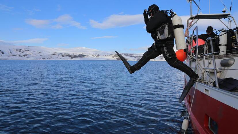 Участник погружения на дно антарктического вулкана: Подготовка шла в Чечне, Пермском крае и Египте