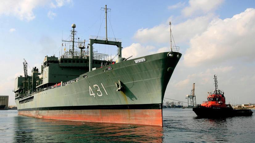 Иран направил военные корабли к границам США