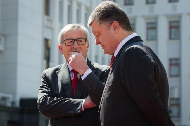 Глава Еврокомиссии Юнкер: Нет информации, что Киеву стоит опасаться российской агрессии