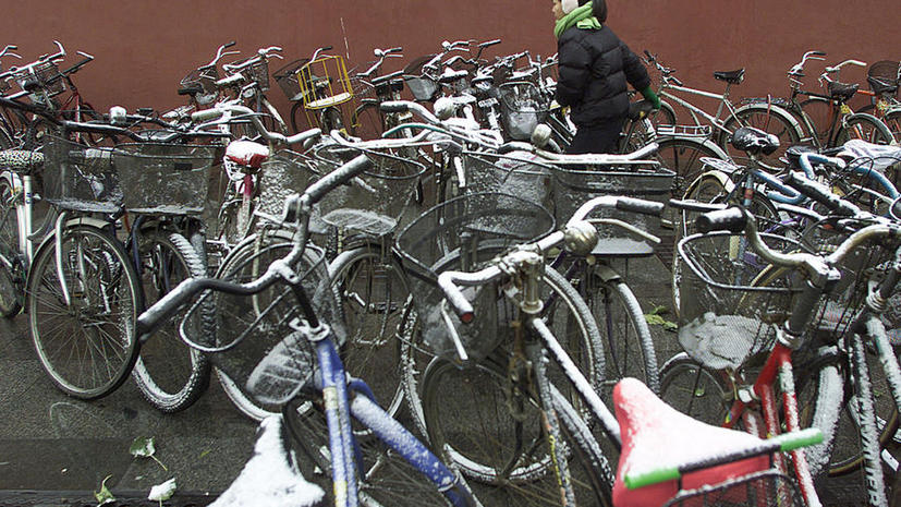ГЛОНАСС поможет спроектировать велостоянки