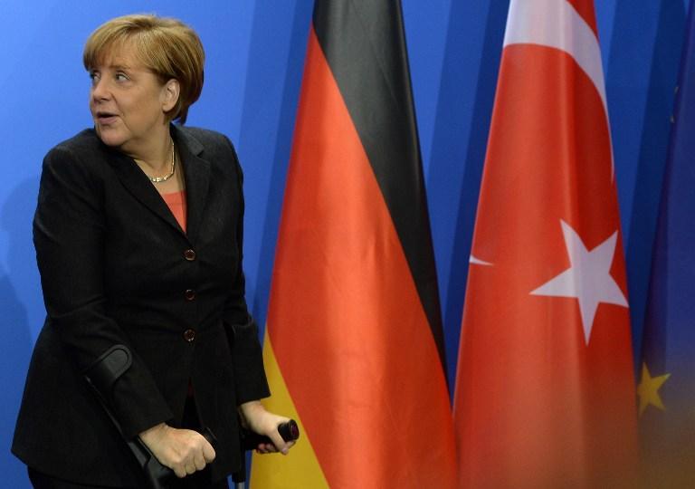 Ангела Меркель встретится с лидерами украинской оппозиции