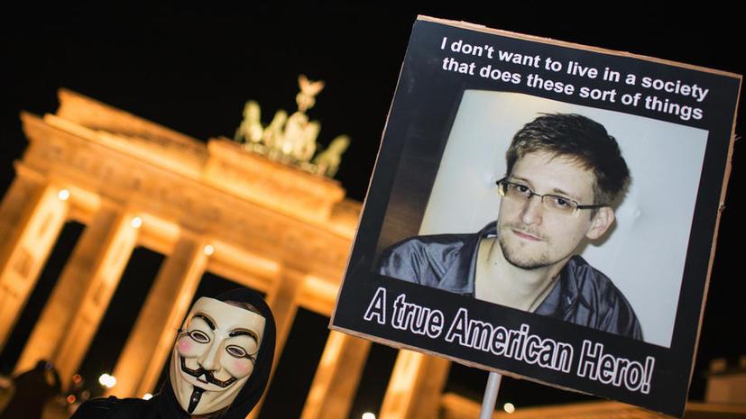 Опрос: немцы не доверяют США и считают Эдварда Сноудена героем