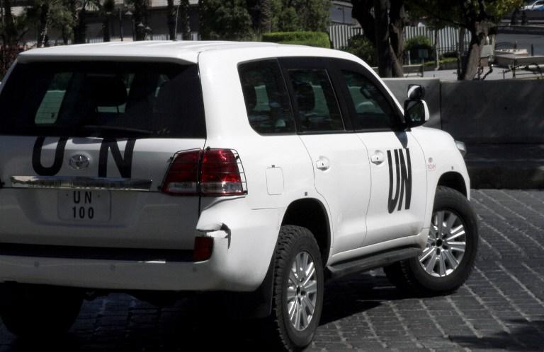 ООН: В результате применения химоружия в Сирии пострадали солдаты правительственных войск