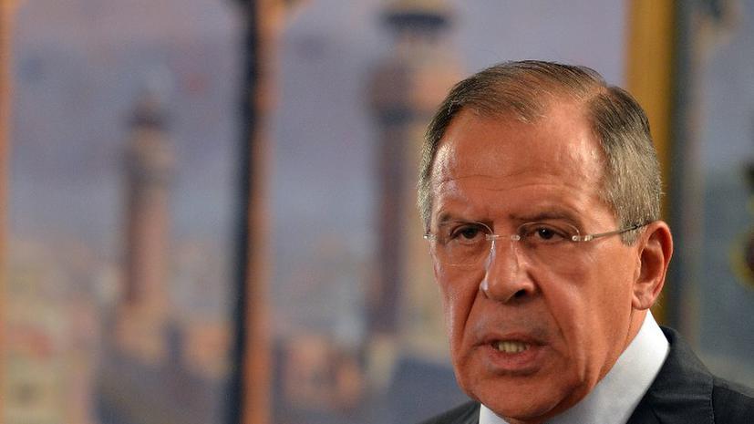 Лавров: «Москва требует прекратить обстрелы Газы»