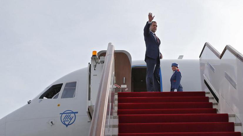 Сегодня Дмитрий Медведев начинает свой визит в Китай