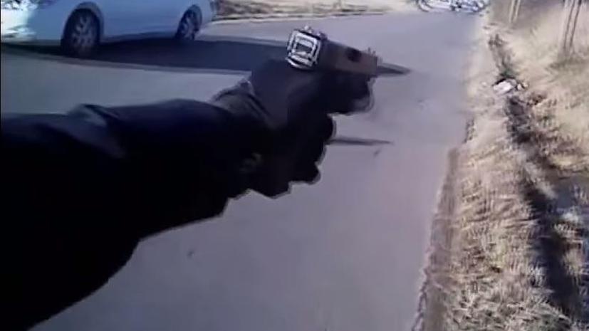 В США обнародовано видео очередного убийства чернокожего полицейским