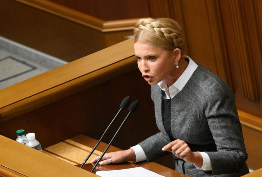 Юлия Тимошенко обвинила Киев в сговоре с олигархами