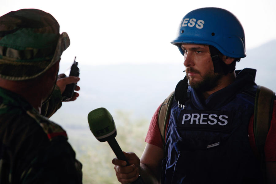 10 лет на линии огня: лучшие репортажи RT с места событий