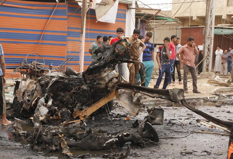 Серия взрывов в Багдаде: погибли около 60 человек