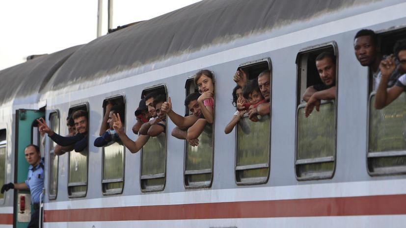 «Контрабанда людей»: в Венгрии задержан поезд с беженцами в сопровождении полицейских из Хорватии