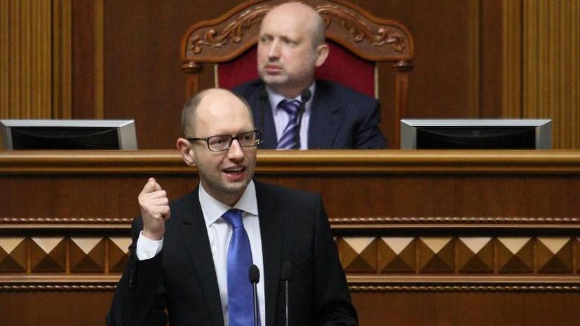 Более 50% жителей Донецкой области не признают власть Александра Турчинова и Арсения Яценюка