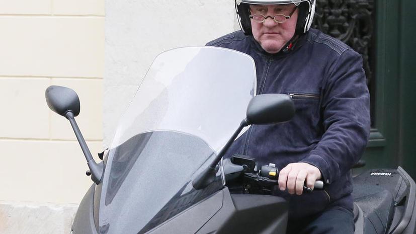 Жерар Депардье оштрафован на €4 тыс. за вождение в нетрезвом виде