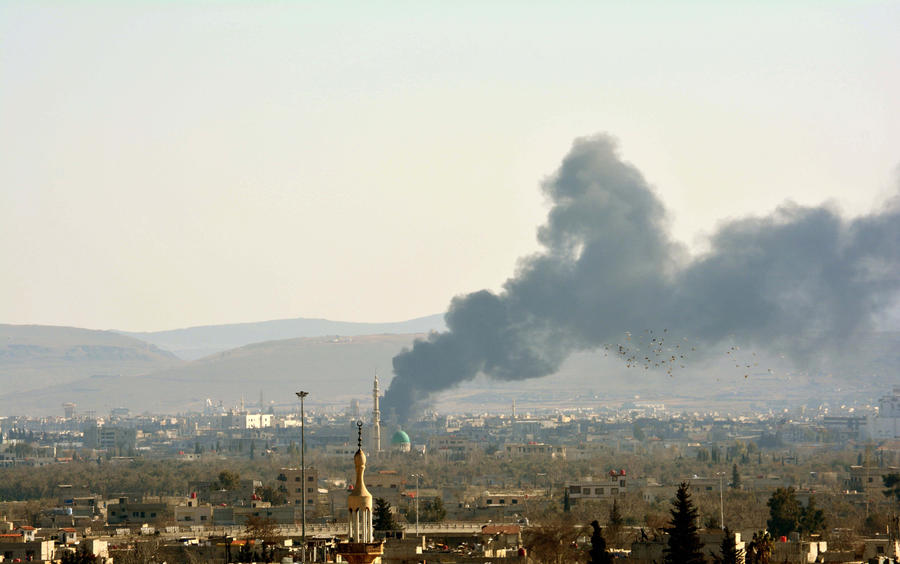Россия внесла в Совбез ООН свой проект резолюции по Сирии