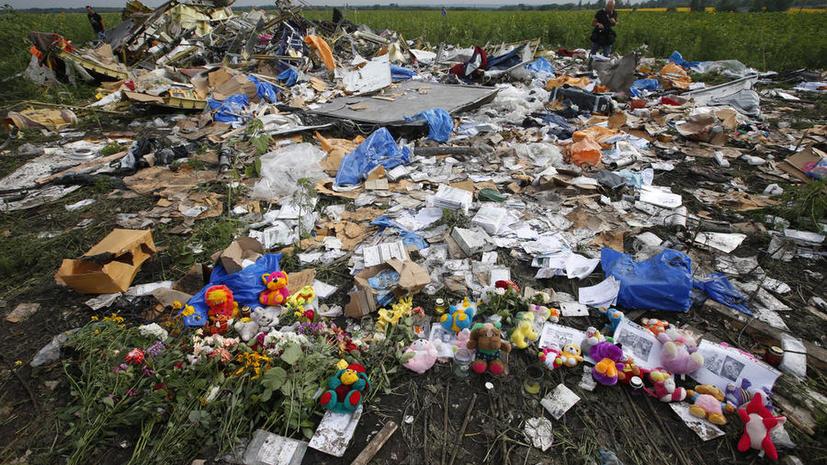 Голландские банкиры: Деньги с карт пассажиров Boeing 777 никто не снимал