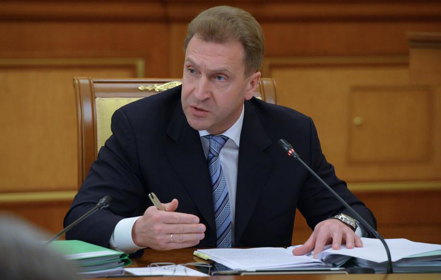 Игорь Шувалов: Россия считает недружеским задержание в Минске главы «Уралкалия»