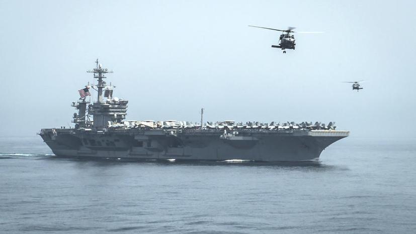 США направили военные корабли к берегам Йемена
