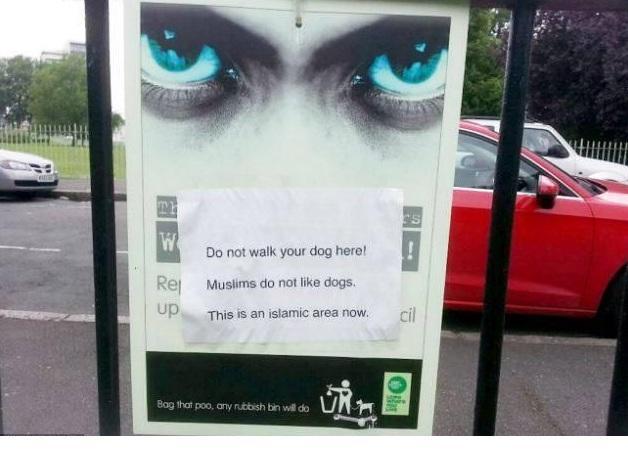 В лондонском парке появился знак, запрещающий выгул собак в мусульманской зоне