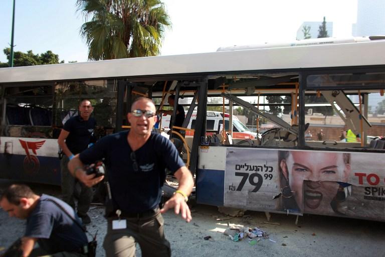 Израильские спецслужбы поймали организаторов теракта в Тель-Авиве