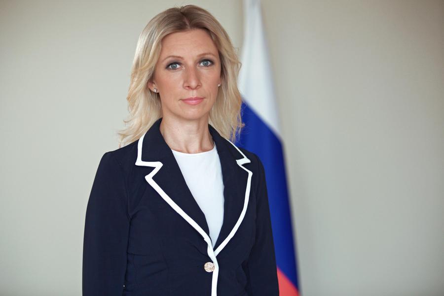 Зарубежные СМИ очарованы Марией Захаровой