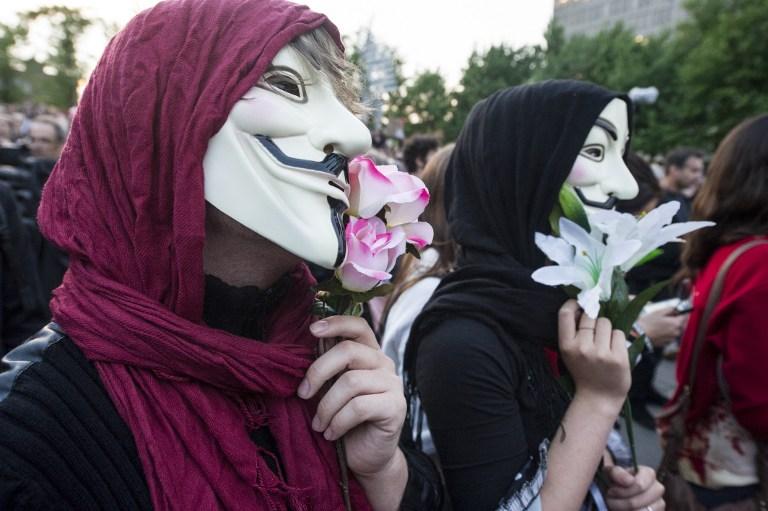 Канадцам, скрывающим лицо на демонстрациях, грозит до 10 лет тюрьмы