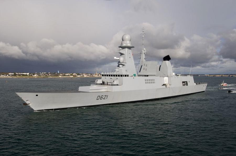 Франция направила к берегам Сирии свой самый современный боевой корабль