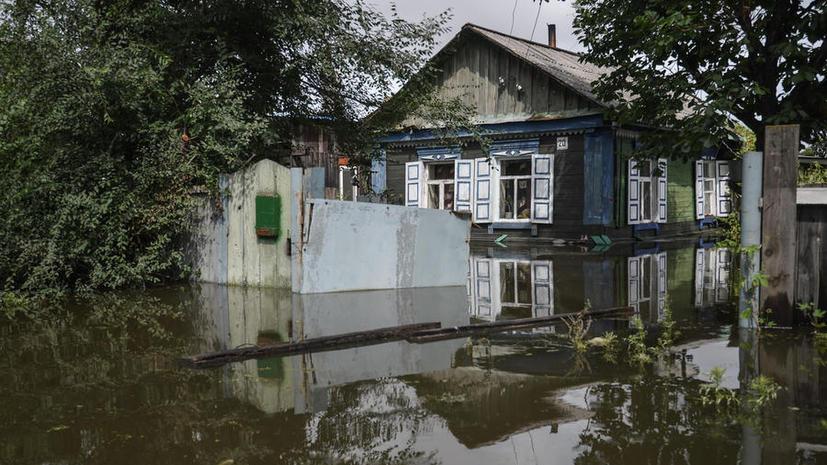 Наводнение в Амурской области: эвакуация продолжается