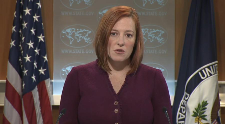 СМИ: В Госдуме предлагают возбудить уголовное дело против Джен Псаки
