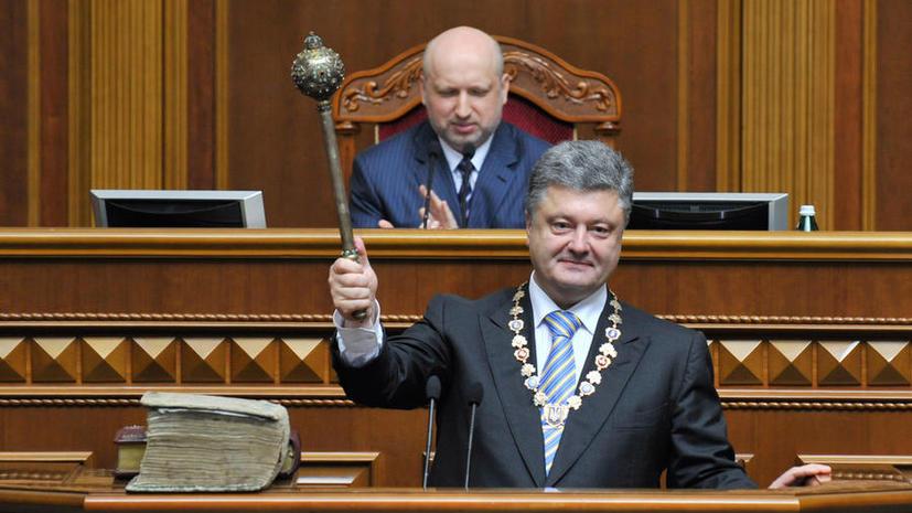 WikiLeaks: Пётр Порошенко был информатором США и добивался ареста Турчинова