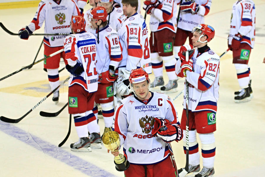 Российская сборная выиграла Еврохоккейтур 2012/13