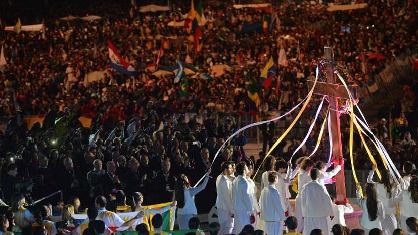 Визит Папы поможет властям Рио лучше подготовиться к Чемпионату мира по футболу