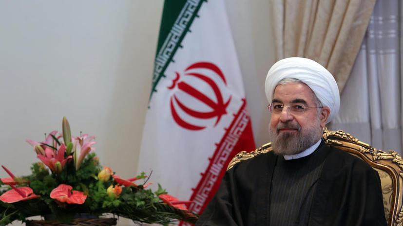 Президент Ирана: По итогам «Женевы-2» в Сирии должны пройти свободные выборы