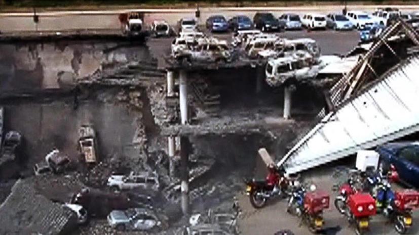 Под обломками торгового центра в Найроби могут находиться ещё десятки тел