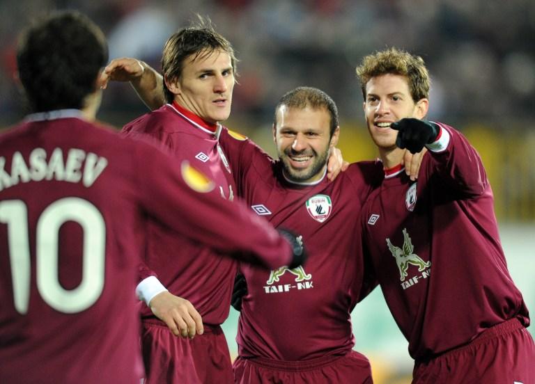 Лига Европы: «Рубин» обеспечил себе первое место в группе благодаря уверенной победе над «Интером»