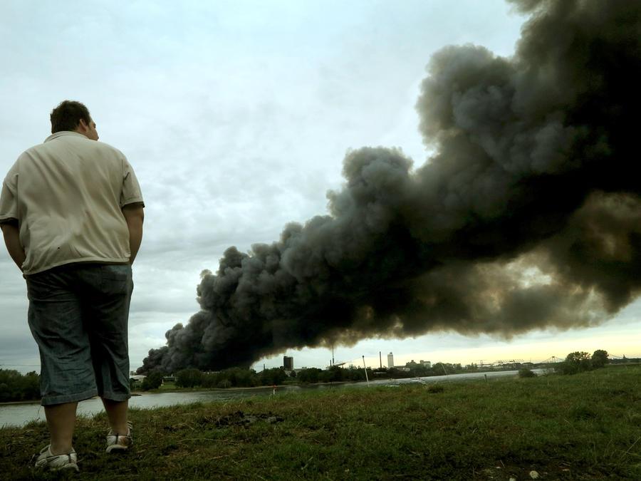 В Техасе взорвался завод по производству минеральных удобрений