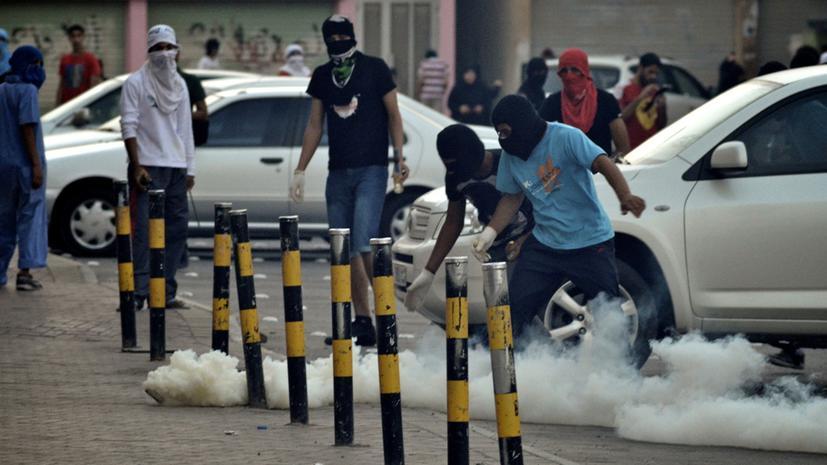 Беспорядки в Бахрейне: полиция применила слезоточивый газ