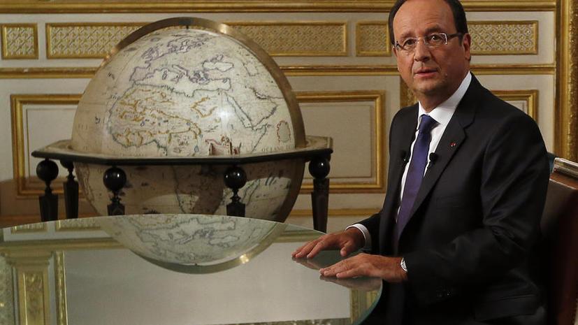 Франция настаивает на возможности более жёстких мер в отношении Сирии