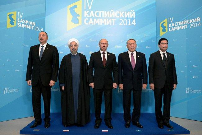Владимир Путин: Большая часть акватории Каспийского моря останется в общем пользовании «пятёрки»