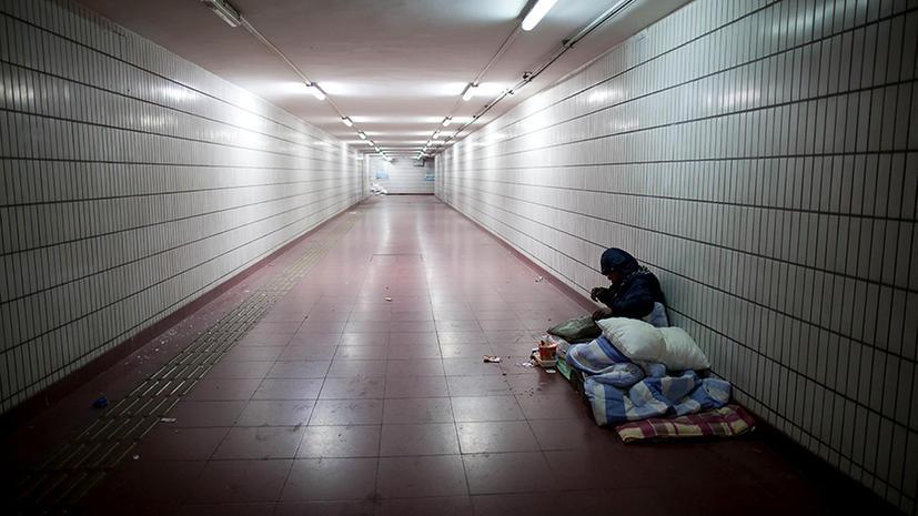 В США насчитали 1 млн бездомных школьников