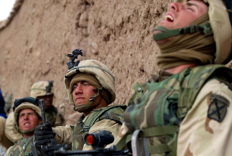 Ряды военнослужащих США косит эпидемия самоубийств