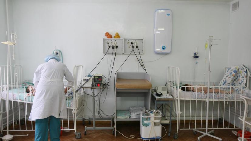 109 детей попали в больницу в Ростове-на-Дону с подозрением на менингит