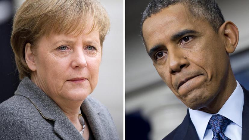 Немецкие хакеры обвиняют канцлера Ангелу Меркель в сговоре с АНБ