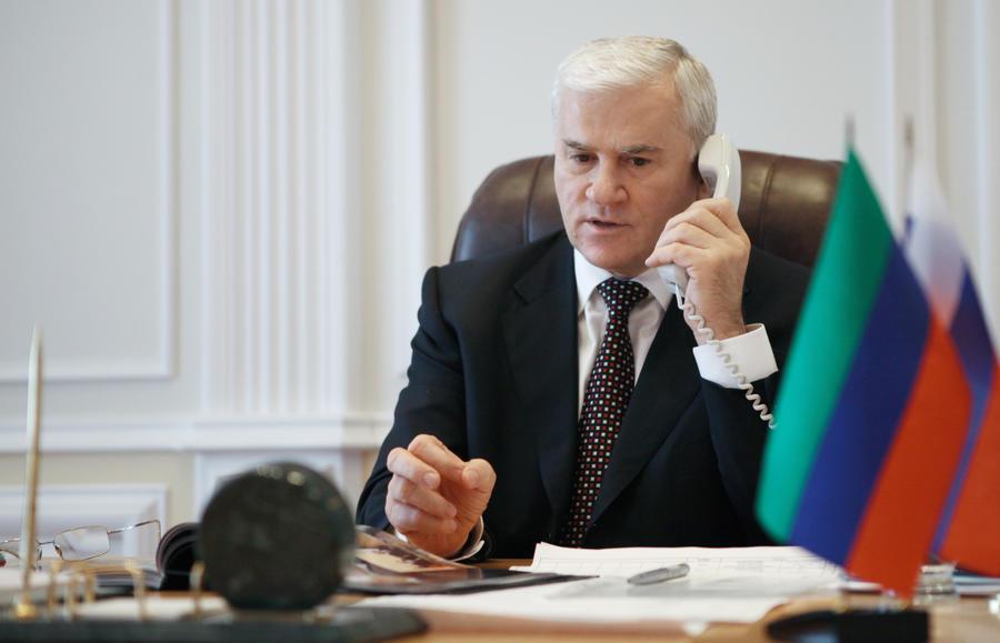 Мэр Махачкалы Саид Амиров арестован на два месяца
