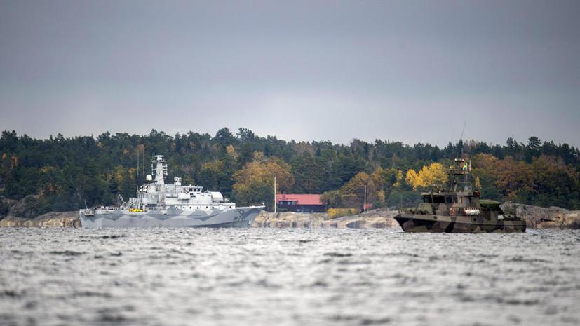 Таинственная «русская» подлодка около Стокгольма оказалась шведским техническим кораблём