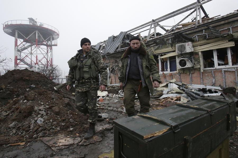 Киев подтвердил начало массированной операции в аэропорту Донецка