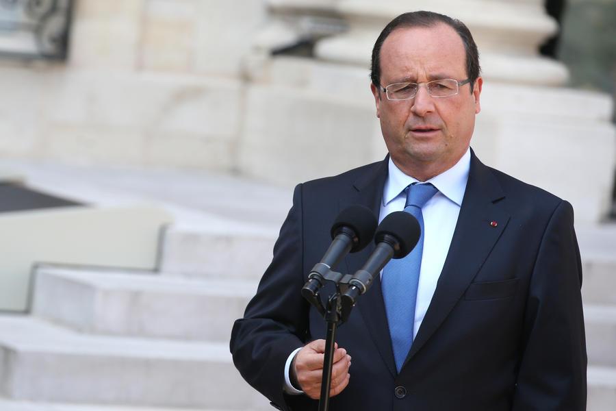Франсуа Олланд: применение химического оружия не должно остаться безнаказанным